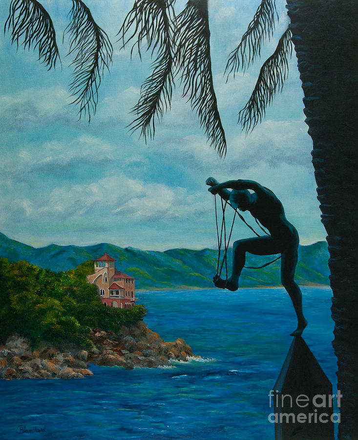 Gateway To Portofino Painting