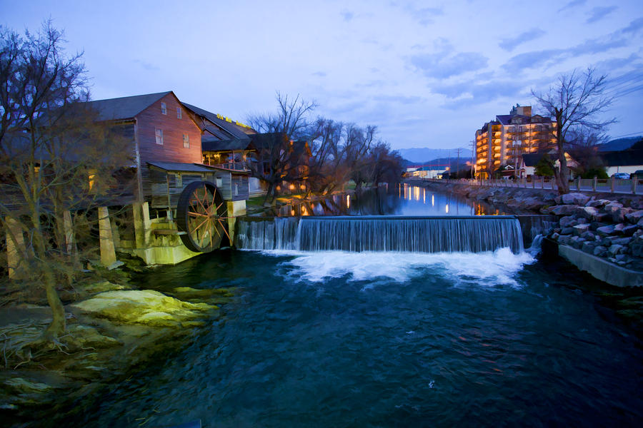Gatlinburg Mill Digital Art