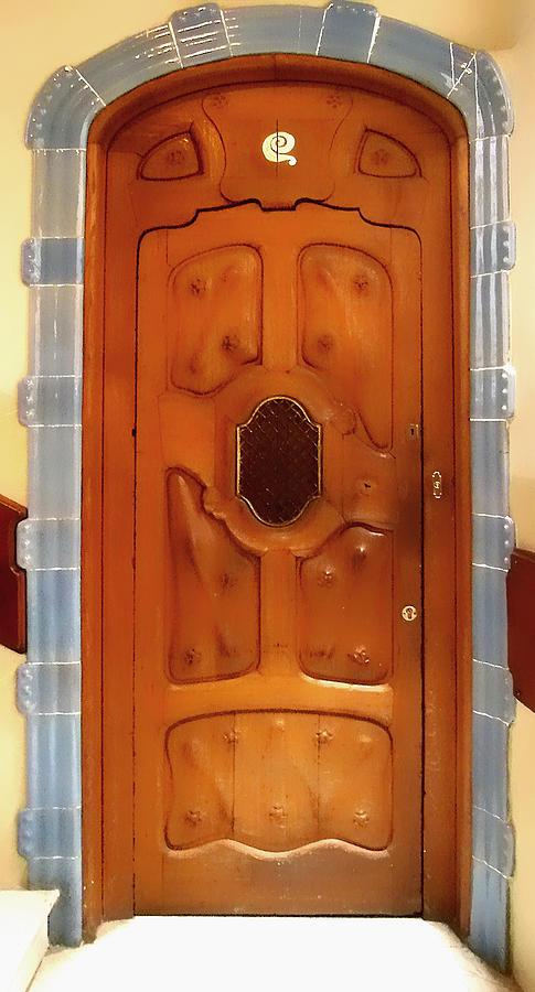 Gaudi Door Photograph