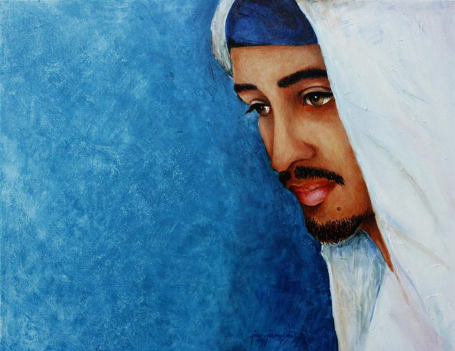 Gaze Of Peace Painting