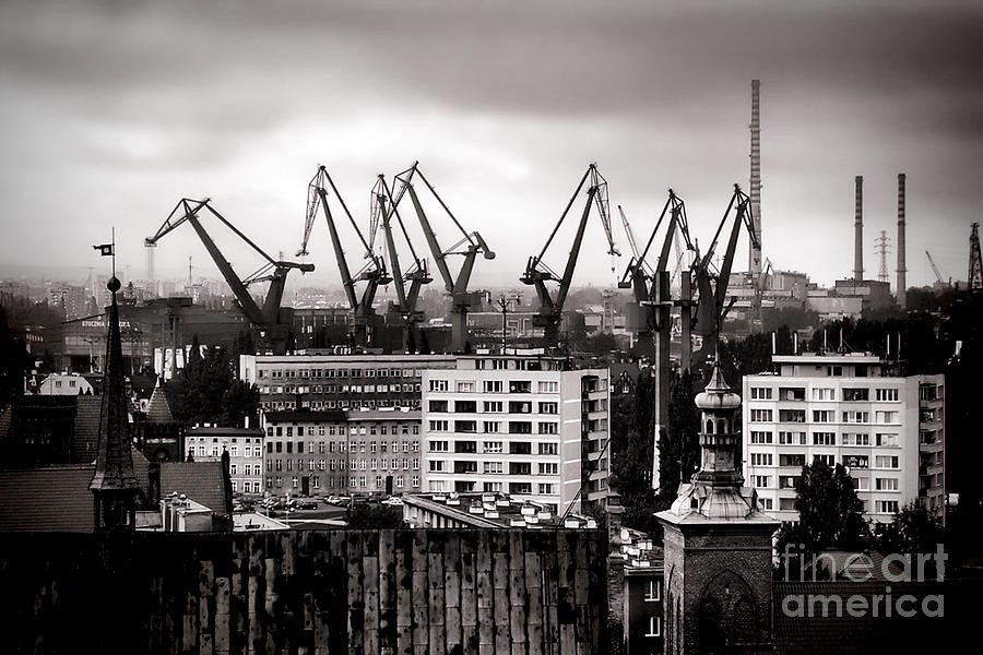 Gdansk Shipyard Photograph