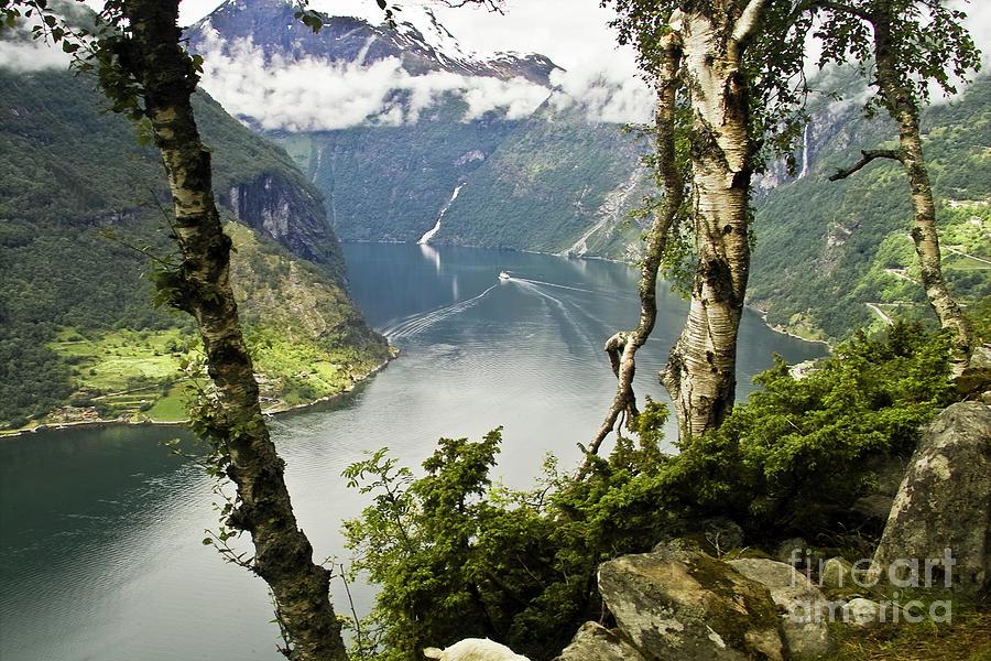 Geiranger Fjord Photograph