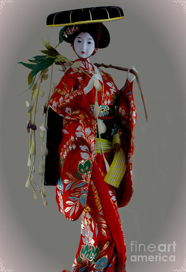 Geisha Elegance Photograph