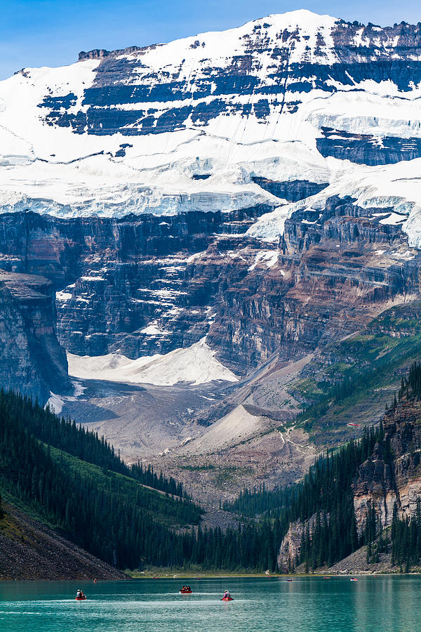 Gem Of The Canadian Rockies Lake Louise Photograph
