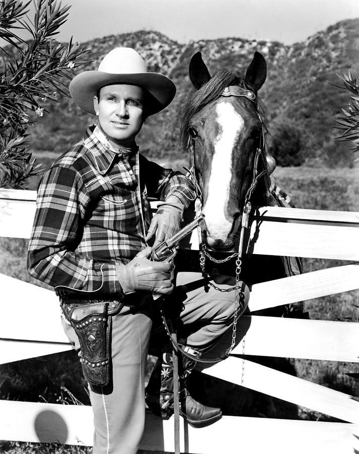 Gene Autry, Undated Photograph