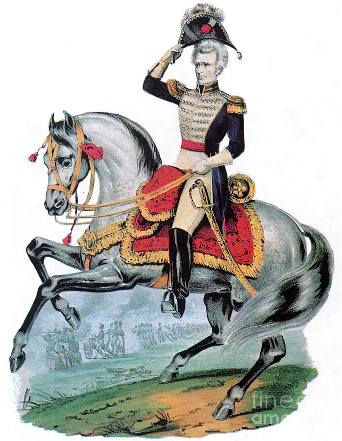 General Andrew Jackson, Hero Of New Photograph
