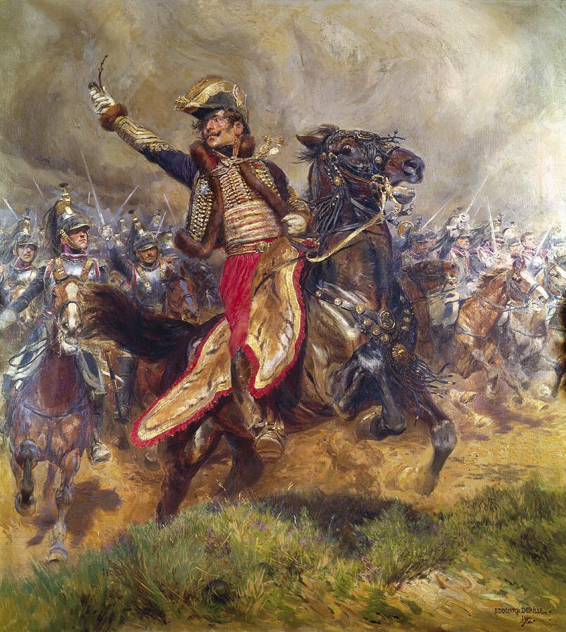 General Antoine-charles-louis Lasalle Painting