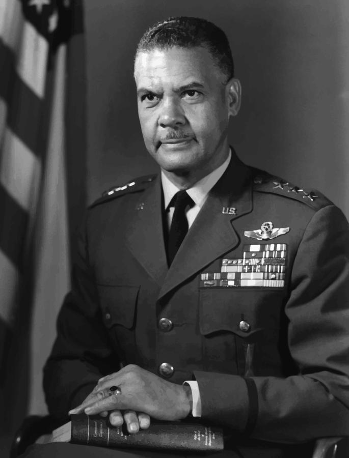 General Benjamin Davis Painting