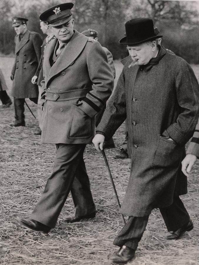 General Dwight Eisenhower, And Prime Photograph