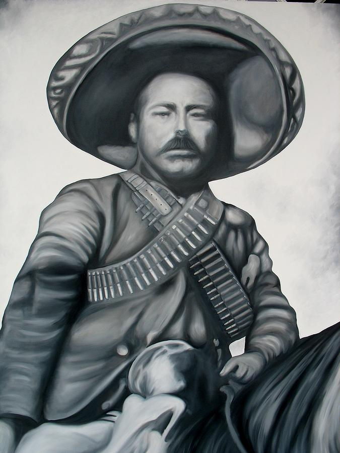 pancho villa Pancho villa (left) commander of the división del norte (north division), and emiliano zapata ejército libertador del sur (liberation army of the south)villa is sitting in the presidential throne in the palacio nacional this was the time of villa's greatest fame and success.