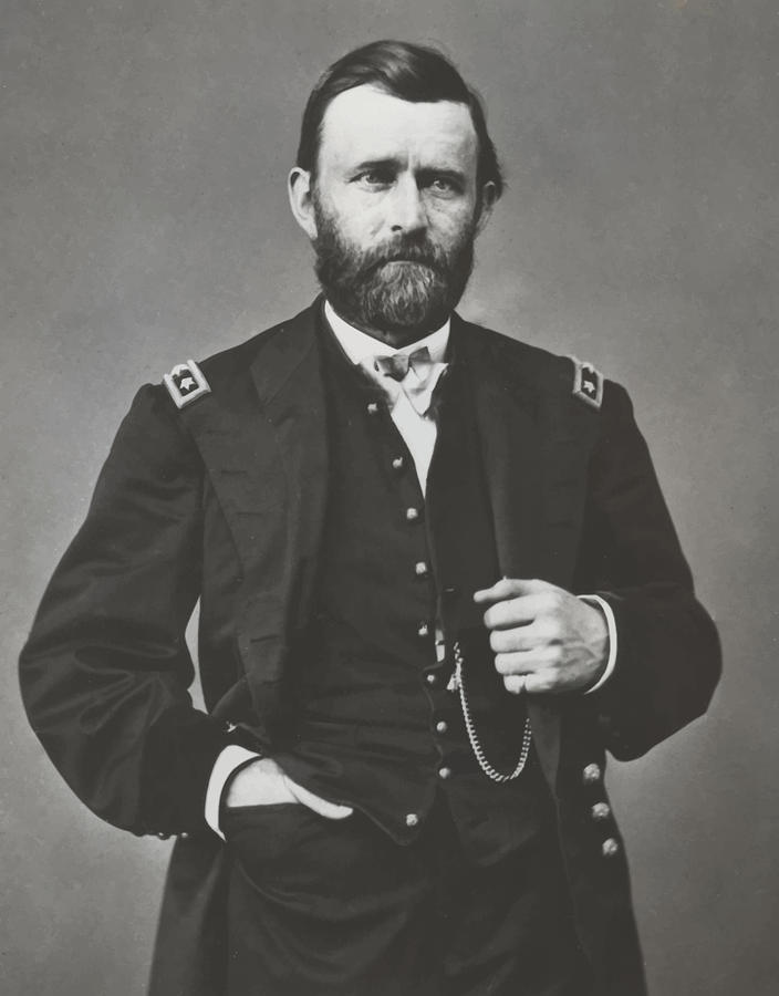 General Grant During The Civil War Painting  - General Grant During The Civil War Fine Art Print