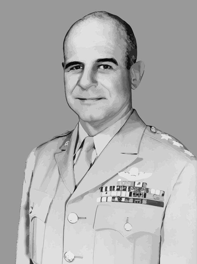 General James Doolittle Painting