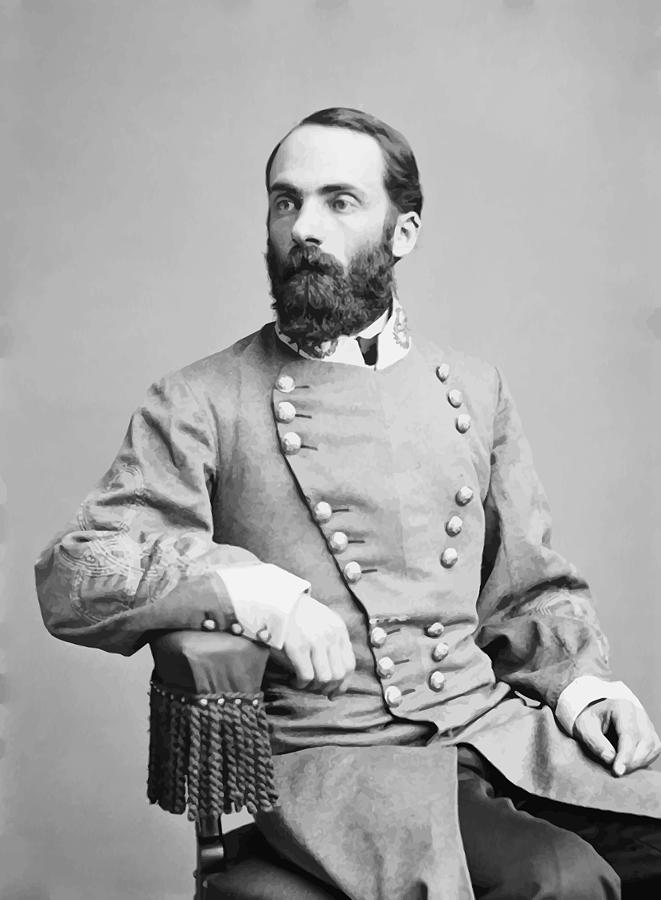 General Joseph Wheeler Photograph  - General Joseph Wheeler Fine Art Print