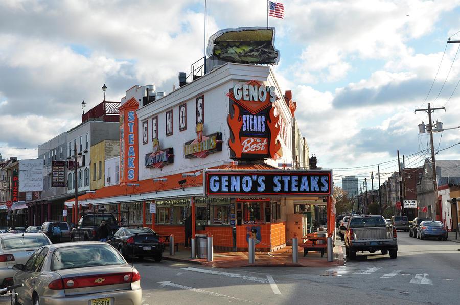 Genos Steaks - South Philadelphia Photograph