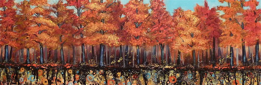 Gentle Autumn Breeze Painting