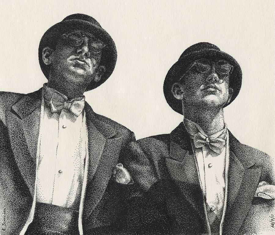 Gents Drawing  - Gents Fine Art Print