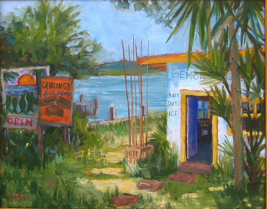 Genung fish camp by pamela geiger for Fish camps for sale in florida