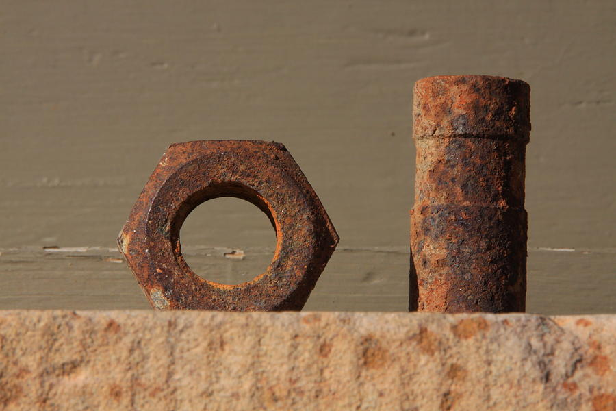 Geometry In Rust Photograph