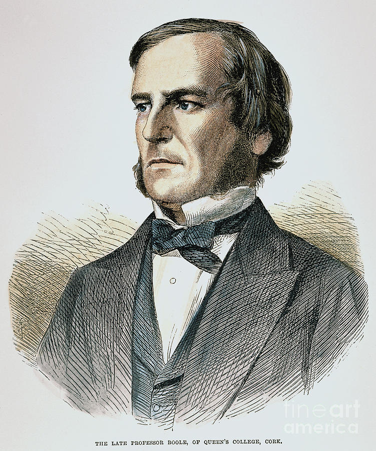 1865 Photograph - George Boole (1815-1864) by Granger