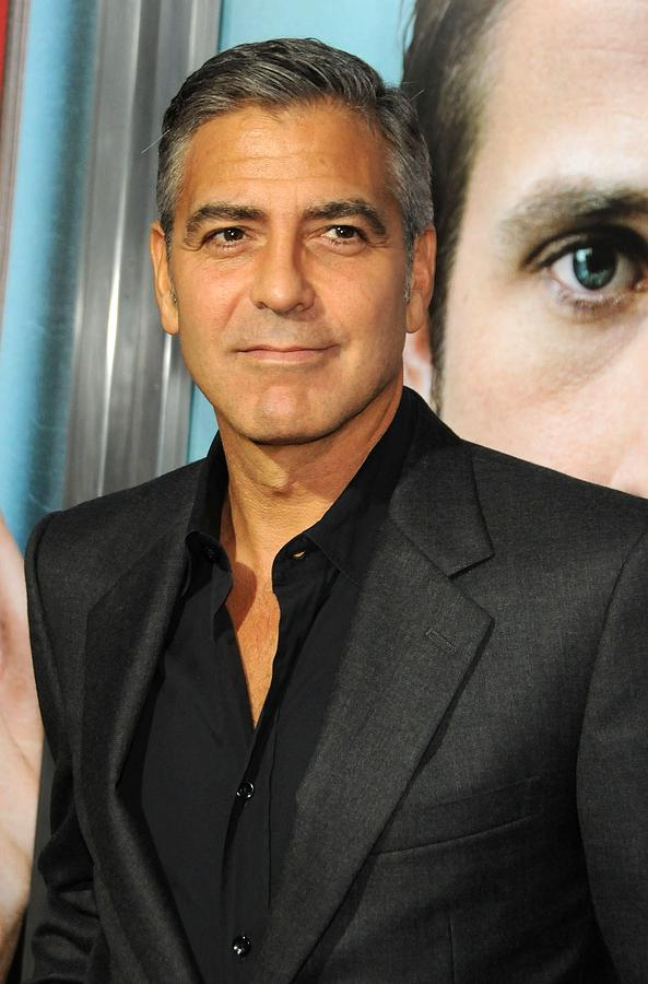 George Clooney At Arrivals For The Ides Photograph