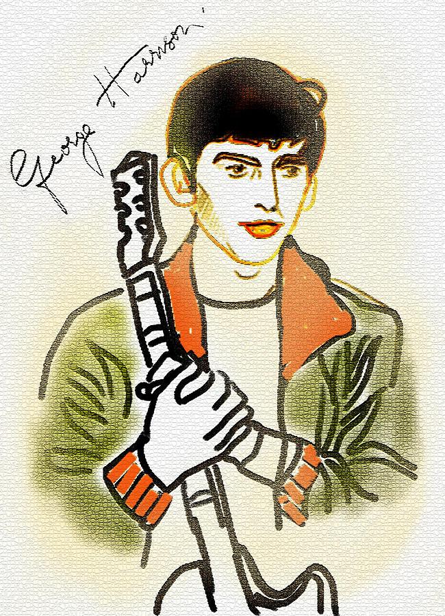 George Harrison - 2 Painting