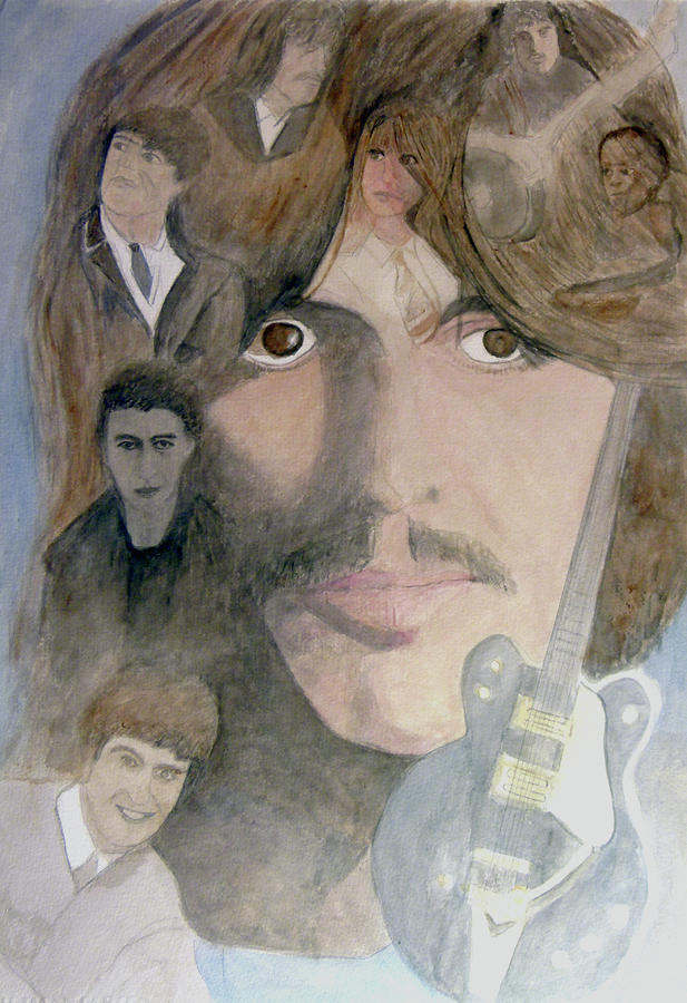 George Harrison Give Me Love Give Me Hope Painting