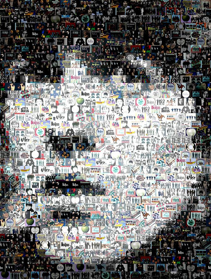 George Harrison Mosaic Digital Art