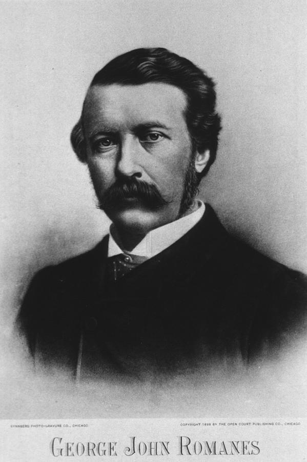George John Romanes 1848-1894, Wrote Photograph