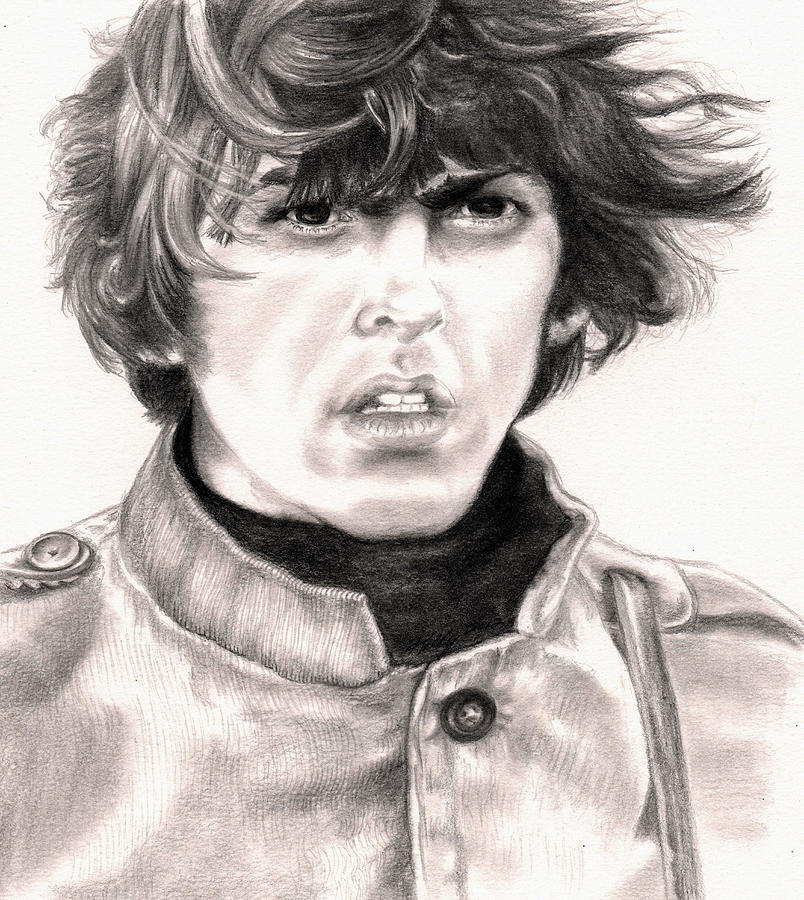 George Drawing  - George Fine Art Print