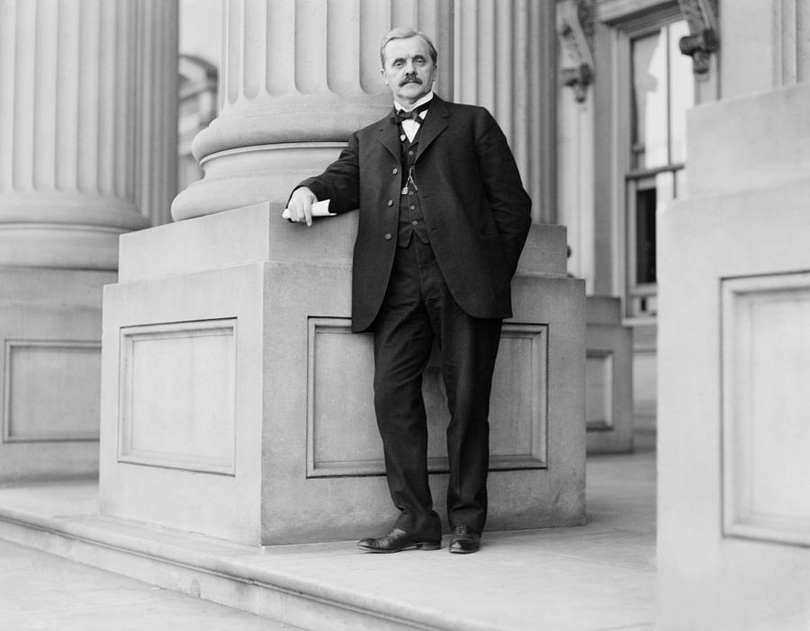 History Photograph - George W. Norris 1866-1944, Nebraska by Everett