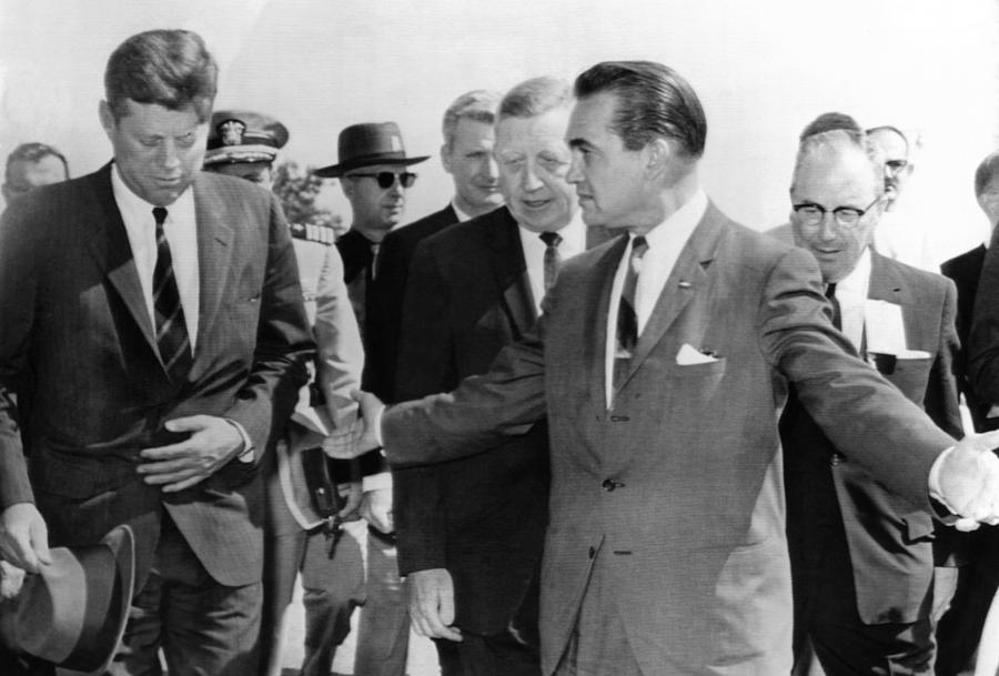 George Wallace Stepping Aside Photograph