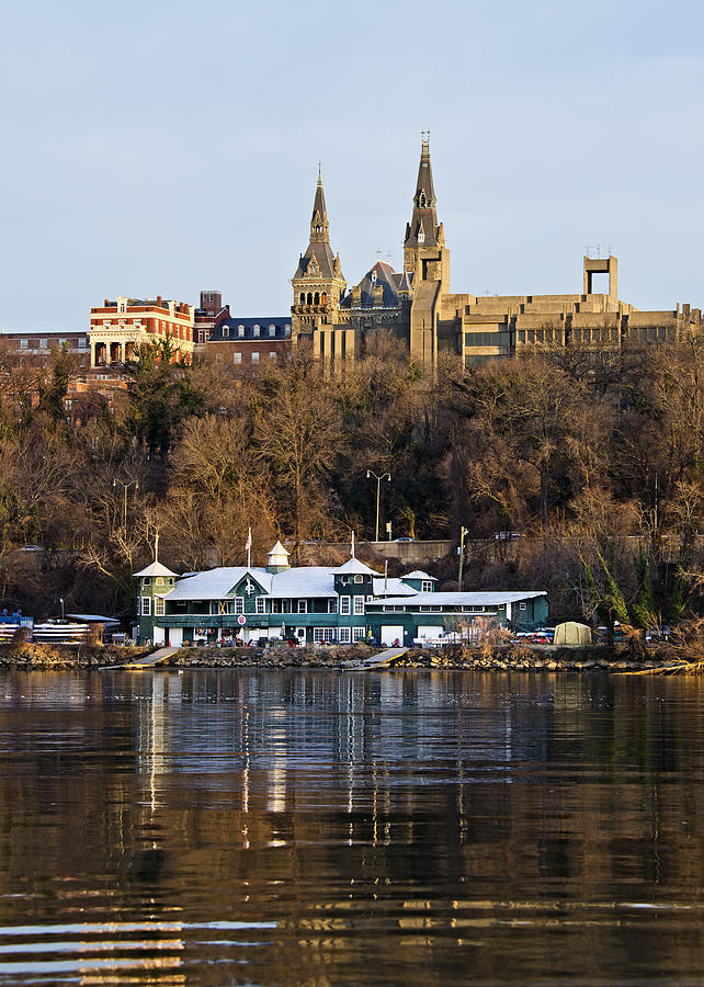Georgetown University Waterfront  Photograph