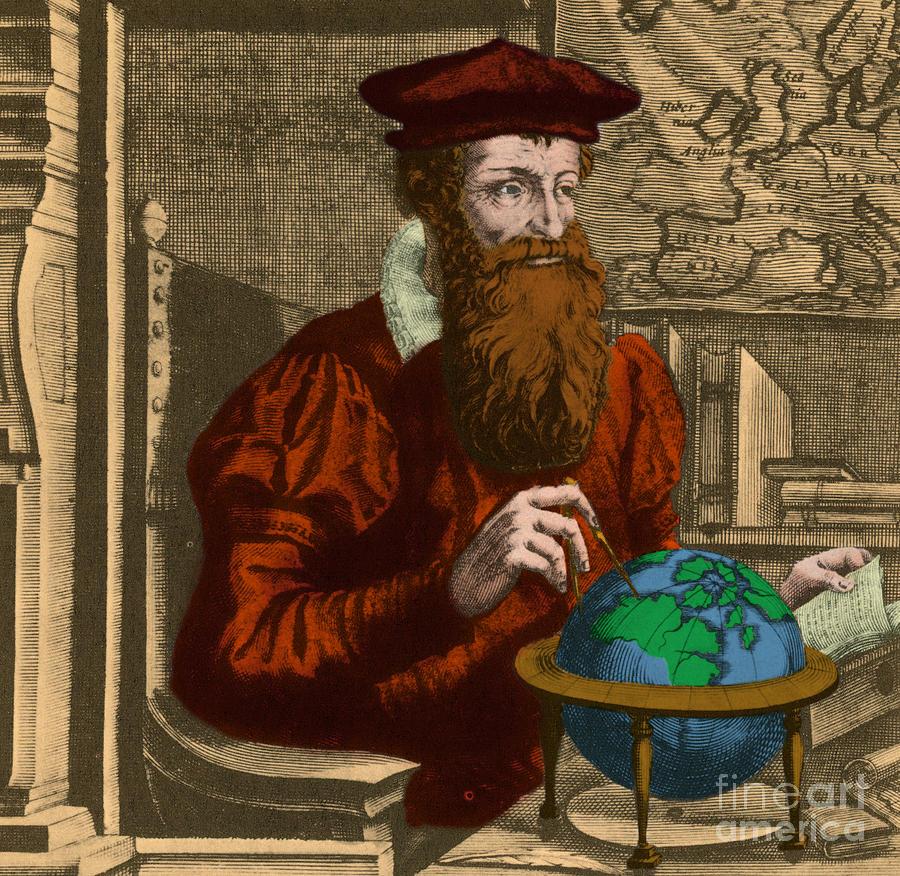 Gerardus Mercator Flemish Cartographer By Photo