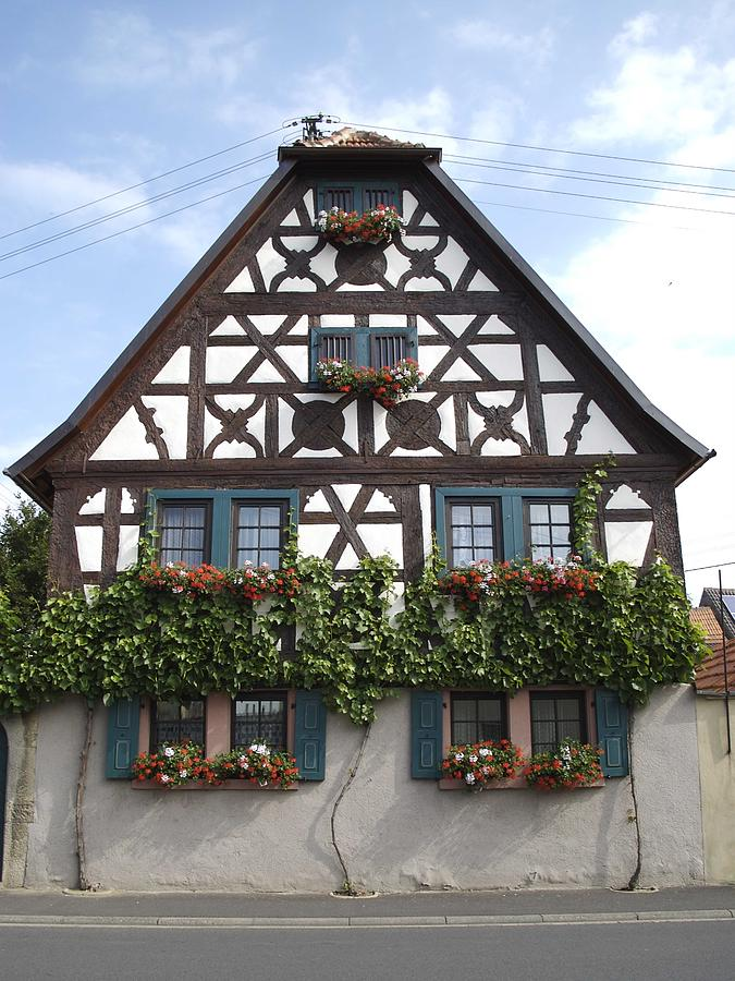 German cottage photograph by reyna martin for Big houses in germany