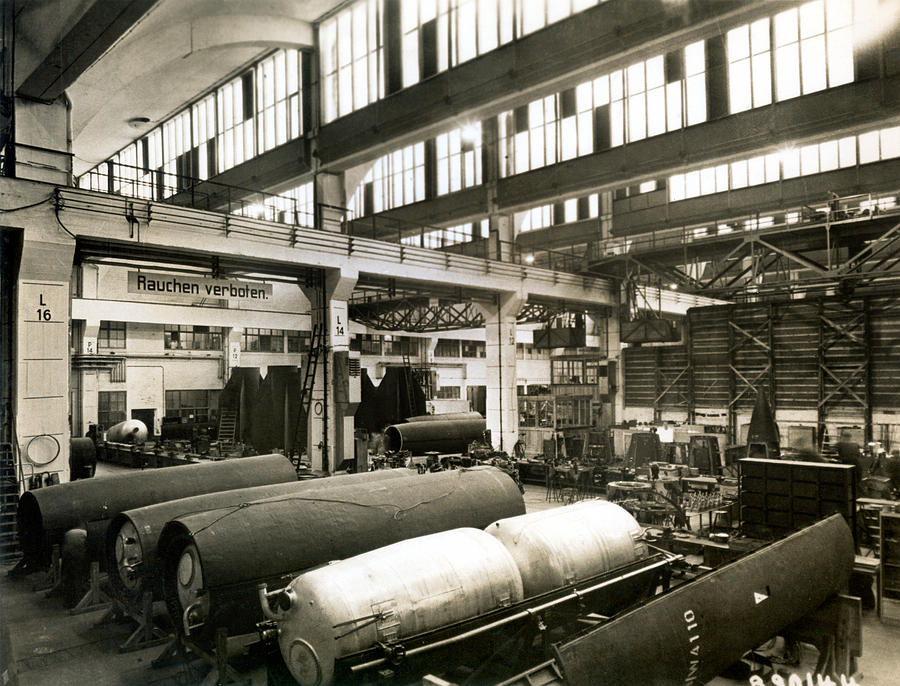 German Rocket Factory, 1943 Photograph