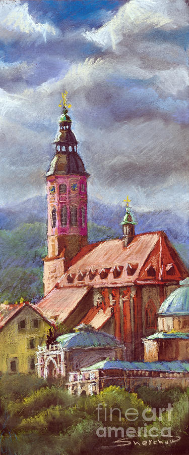Germany Baden-baden 05 Painting  - Germany Baden-baden 05 Fine Art Print