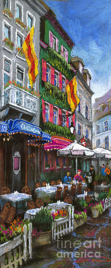 Germany Baden-baden 10 Painting  - Germany Baden-baden 10 Fine Art Print