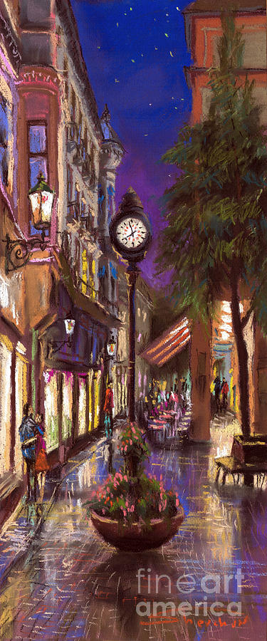 Germany Baden-baden 11 Painting  - Germany Baden-baden 11 Fine Art Print
