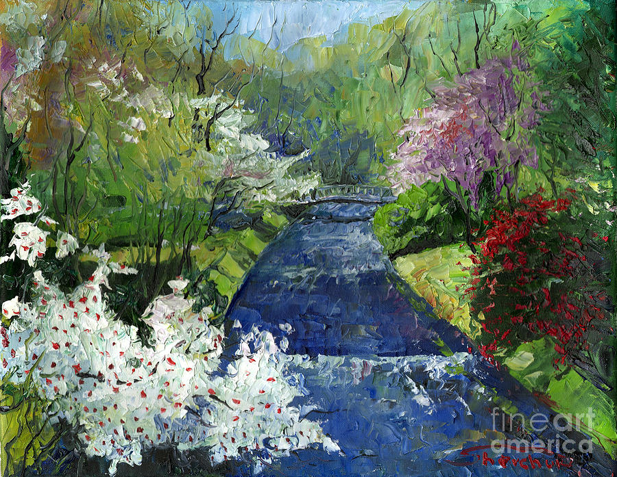Germany Baden-baden Spring Painting