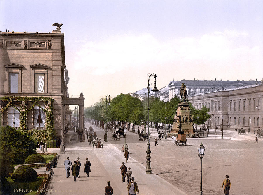 Germany, Unter Den Linden, Berlin Photograph