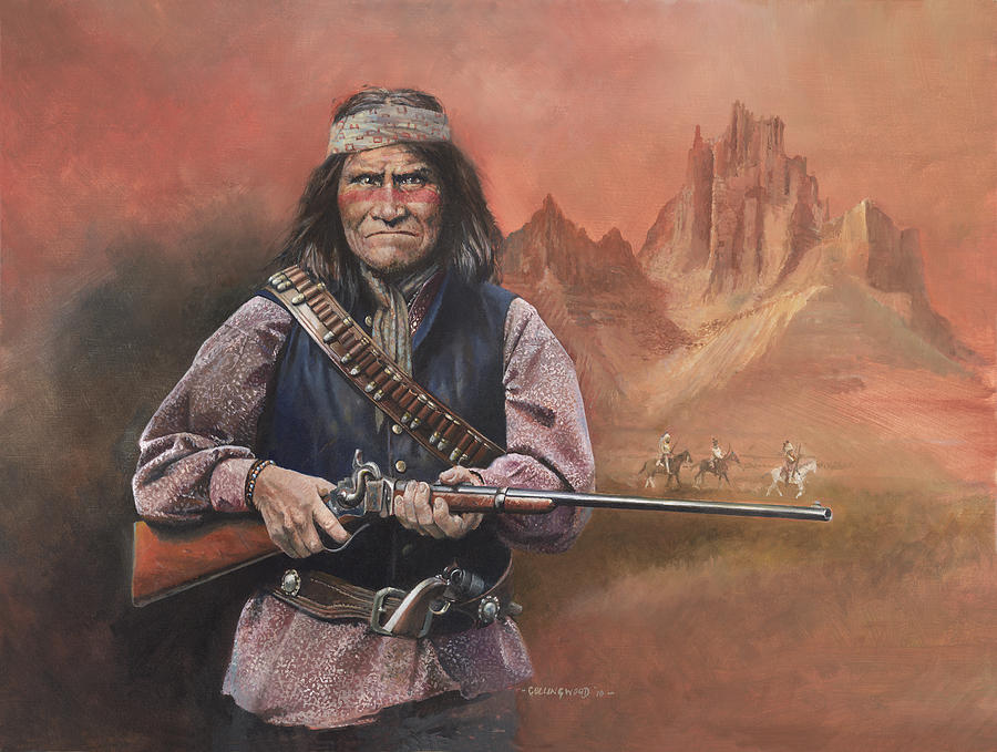 Geronimo Painting  - Geronimo Fine Art Print