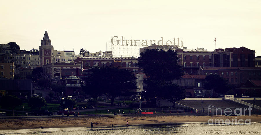 Ghirardelli Photograph - Ghirardelli Square by Linda Woods
