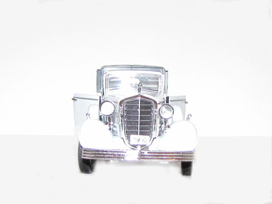 Ghost Car Digital Art
