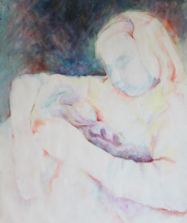 Ghost Mother Painting