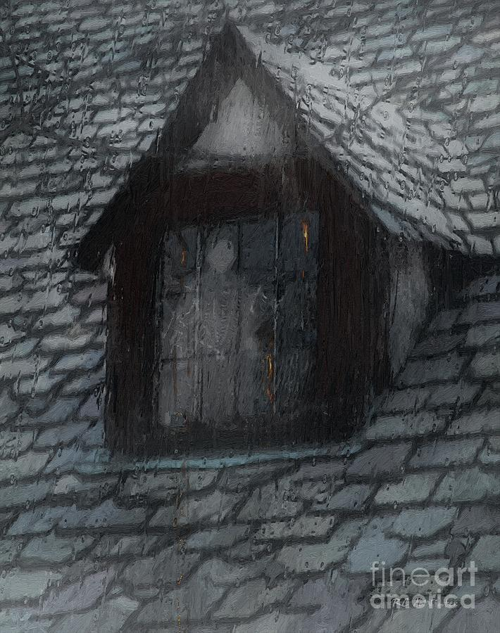 Ghost Rain Painting