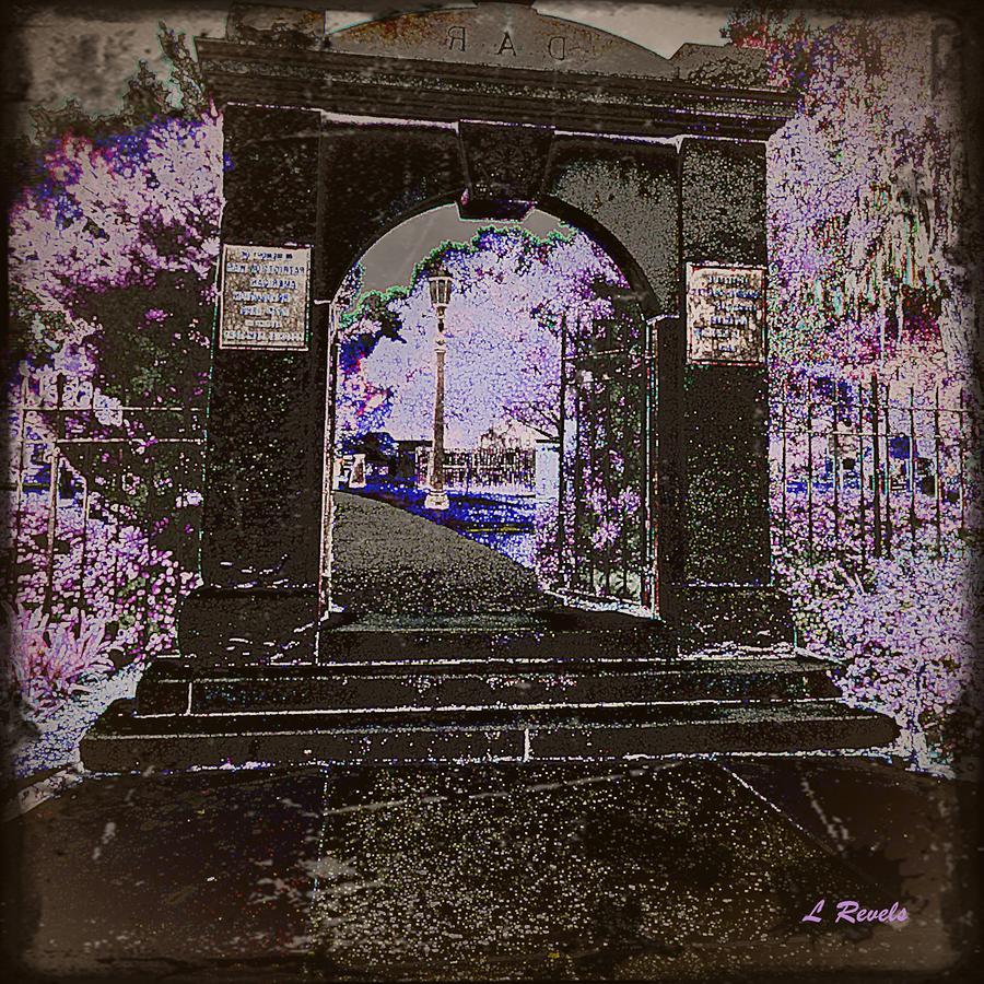 Ghostly Garden Photograph