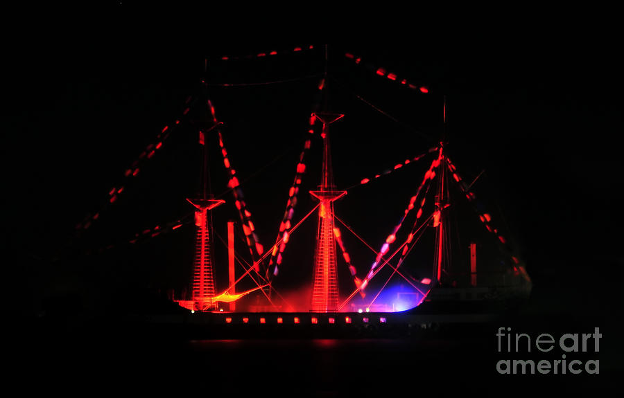 Ghosts Of Gasparilla Photograph  - Ghosts Of Gasparilla Fine Art Print