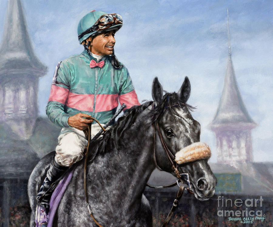 Giacomo At Churchill Painting  - Giacomo At Churchill Fine Art Print