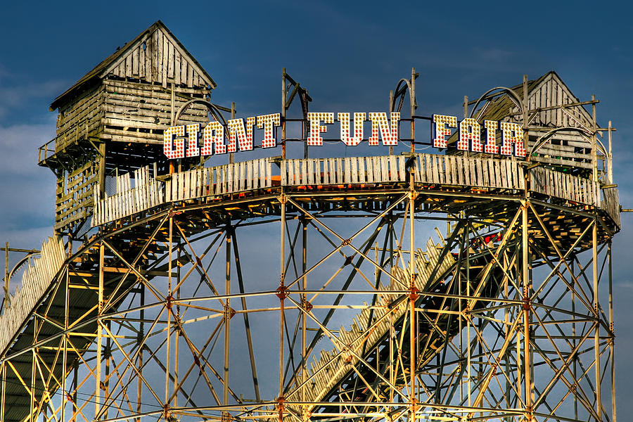 Giant Fun Fair Photograph  - Giant Fun Fair Fine Art Print