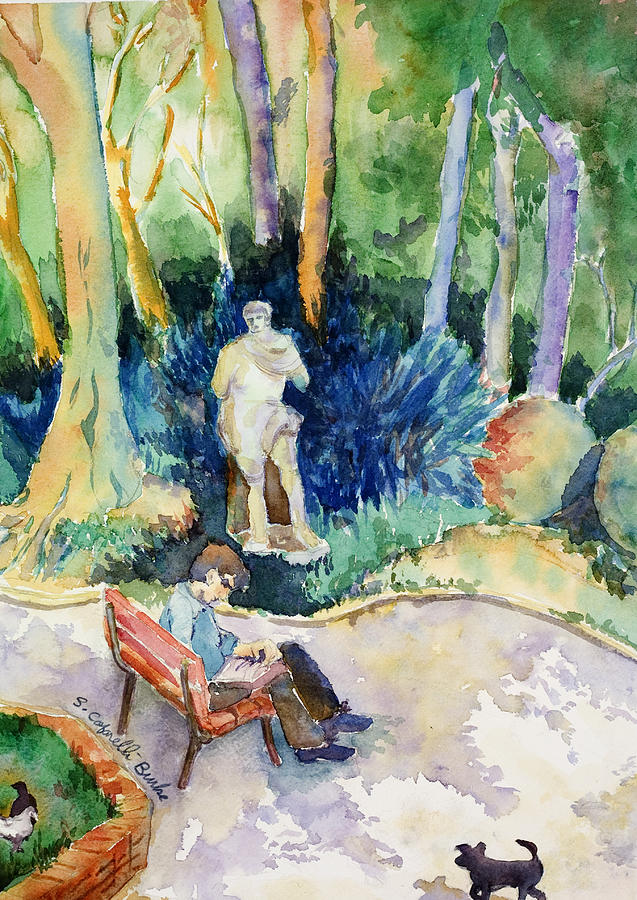 Giardini Publici Painting